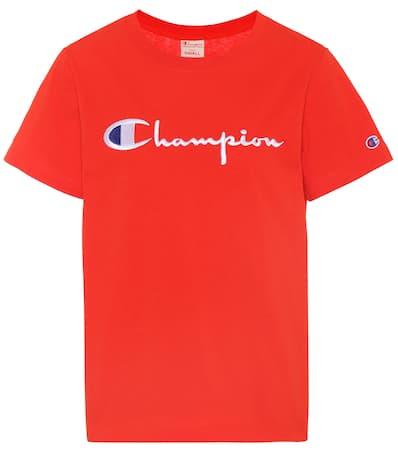 Aus shirt Champion Baumwolle T Champion Rot T wBznSaqnxO