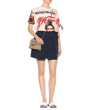 Anderson Bedrucktes Jw Aus Anderson Blush Baumwolle T shirt Jw EB4wBP1xq
