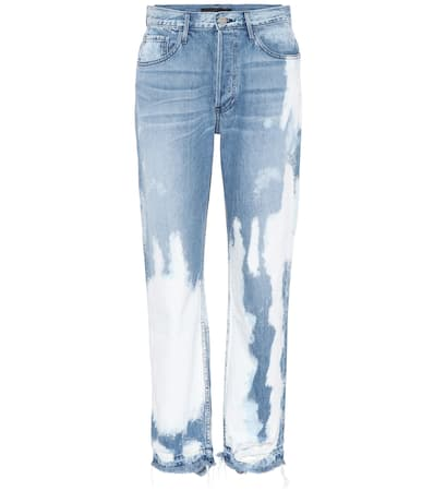 3x1 Jeans Higher Ground Crop Aus Baumwolle Marble