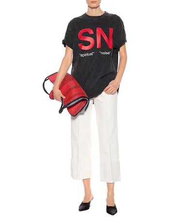 Baumwolle Schwarz shirt Aus shirt Noise T Undercover Aus Undercover Spiritual Noise T Spiritual HPqORR
