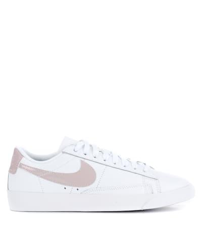 Nike Leder Sneakers Aus Wei Low Sneakers Blazer Le Nike rrzBFwq4