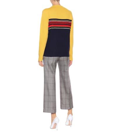 Prada Pullover Aus Senape Prada Wolle Pullover Aus xPWwqvWFE0