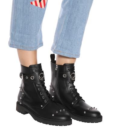 Fendi Ankle Boots Aus Kalbsleder Schwarz Günstig Kaufen Billig ml1OfBg3LC