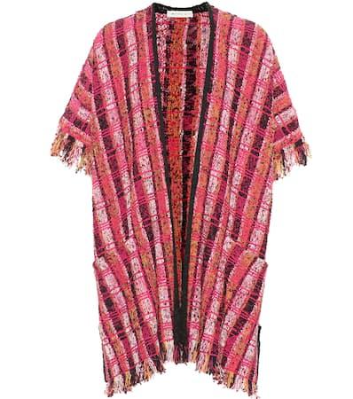 Etro Strickjacke Aus Tweed Mehrfarbig