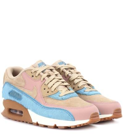 Und Max Musrom Leder Air Aus Fell Nike Nike 90 Sneakers musrom HUtZ0