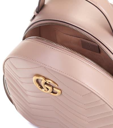 Gucci Rucksack Gg Marmont Aus Leder Porcel.rose/porc.ros Rabatte 2018 Unisex Verkauf Online 6Usyhrl