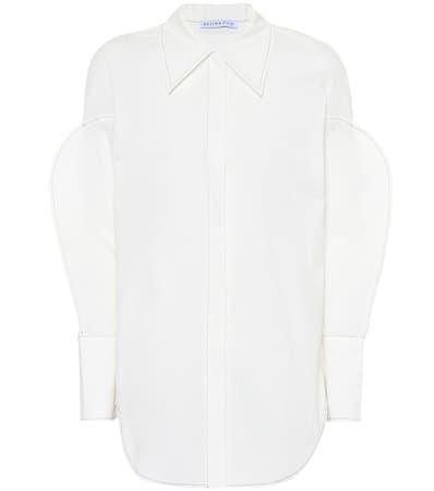 Cotton Hemd Pyo Aus Rejina Tate Wei Off Baumwolle Poplin qFvRX5w