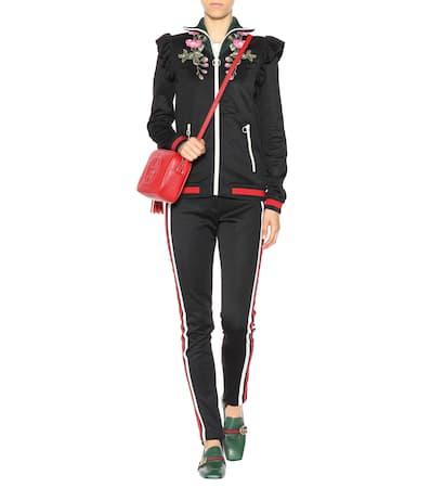 Schlussverkauf Gucci Steghose Aus Jersey Schwarz / Blau / Rot / Weiß Geniue Händler Günstig Online Günstigste Preis Verkauf Online Preiswerte Reale 100% Ig Garantiert Verkauf Online plkI8Qy