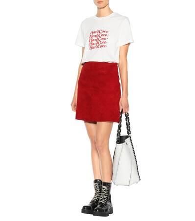 Alexachung T Baumwolle shirt Ivory Bedrucktes Alexachung shirt Bedrucktes T Aus OrOwXTUqx