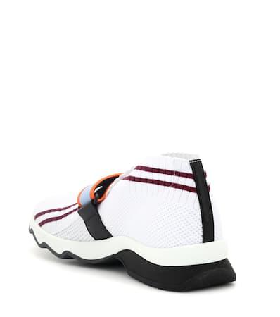 Aus Verzierte Bianco Verzierte Fendi Sneakers Fendi Burdeos Mesh Tx6PaIw