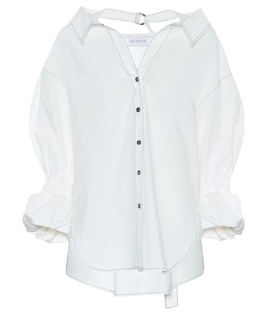 Billig Verkauf Neuesten Kollektionen Rejina Pyo Oversize-bluse Amber Aus Baumwolle Cotton Weiß In Deutschland CfcLWvYkY