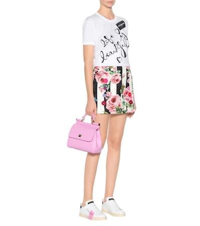 Aus Variante Bedrucktes Gabbana Baumwolle shirt Abbinata amp; T Dolce BPXx0qE
