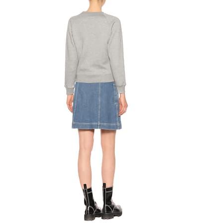 Alexachung Sweatshirt Aus Baumwolle Grey Melange Erhalten Authentisch Verkauf Besten Platz Größte Anbieter Günstig Online Kaufen Angebot Billig Einkaufen oJYfW