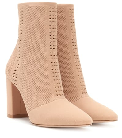 Bei com Praline Ankle Mytheresa Exklusiv Gianvito Rossi Vires Boots 锟� Gestrickte FH1qPaEPxw