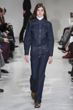 Calvin Klein Calvin 205w39nyc Baumwolle Klein Aus Denim Denimbluse 205w39nyc Blau Denimbluse Aus wwpUTq