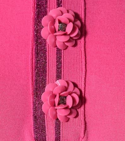 Verziertes Jacobs Rosa Verziertes Poloshirt Jacobs Poloshirt Marc Marc Marc Jacobs Rosa wawWrqt08U