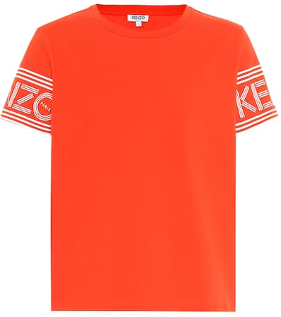 Medium Bedrucktes Baumwolle T Kenzo Rot Aus Kenzo shirt Bedrucktes 0CqnO