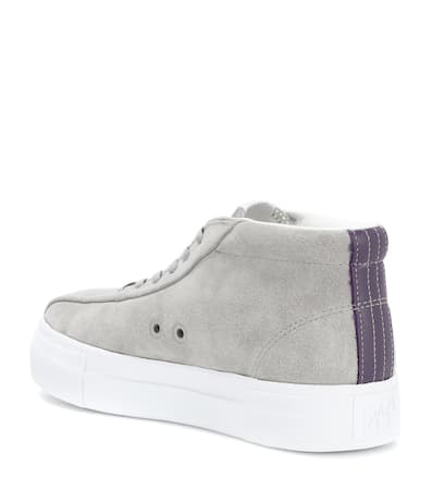 Turnschuhe High top Eytys Veloursleder Eytys Zement Mutter Aus High wqIPHpWn