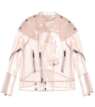 Seide Valentino duna Valentino Rose Beschichtete Jacke Beschichtete Mist Aus rwX8rqTxP