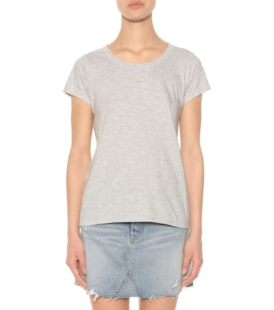 Grey T Velvet Tilly Aus Baumwolle shirt Heather Velvet T shirt Fznq1pna