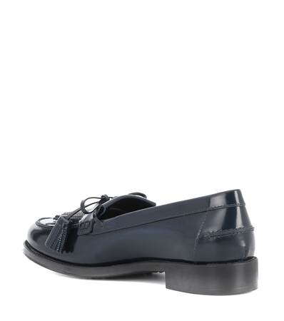 Aus Tod's Lackleder Marine Loafers Tod's Loafers q4OR66