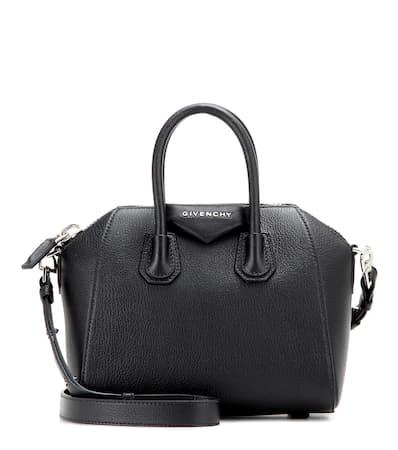Givenchy Ledertasche Antigona Mini Schwarz