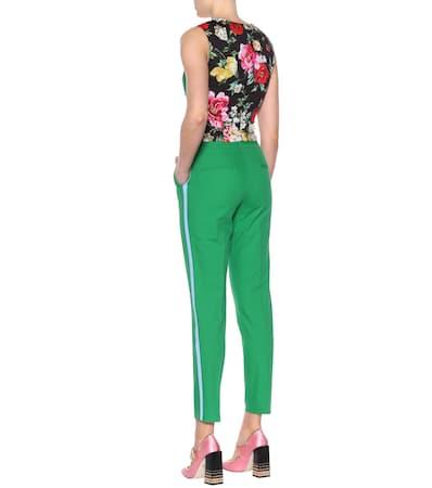Aus Dolce Dolce Weste amp; Gabbana Verde Baumwollgemisch amp; Billante Einem S4UxqX
