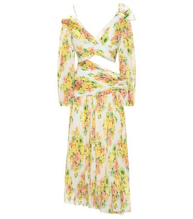 Zimmermann Kleid Mit Cut-out Citrus Stamp Floral Wo Findet Man oeE8Dp