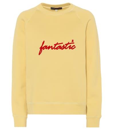 Alexachung Alexachung Aus Verziertes Aus Sweatshirt Pale Verziertes Gelb Sweatshirt Baumwolle rYwCqr