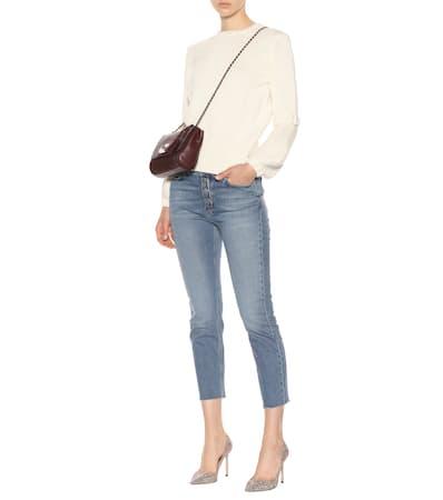 Aus M M Baumwolle i h Jeans Leeson Cream Pullover i 015qn75
