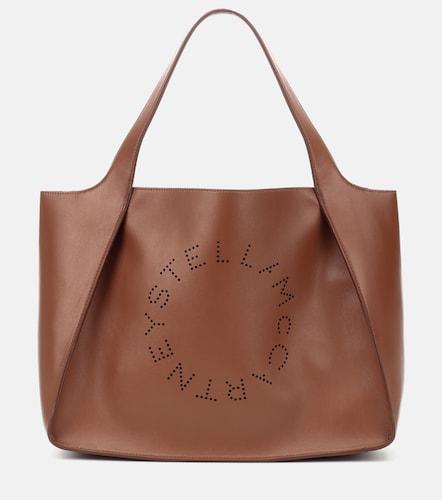 Cabas en cuir synthétique Stella Logo - STELLA McCARTNEY - Modalova