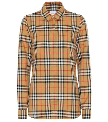 Chemise en coton à carreaux - Burberry - Modalova
