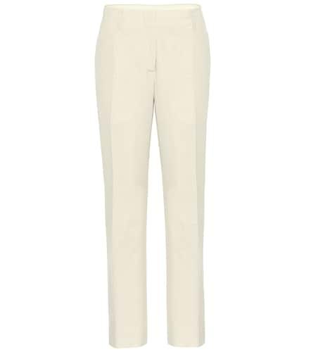Pantalon droit en coton - Dries Van Noten - Modalova