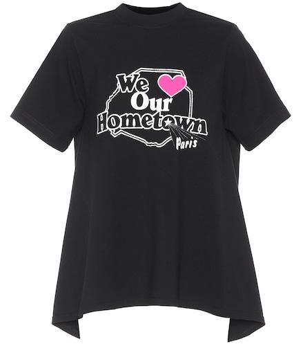 T-shirt en coton imprimé - Vetements - Modalova