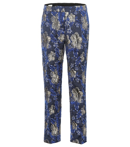 Pantalon en brocart - Dries Van Noten - Modalova
