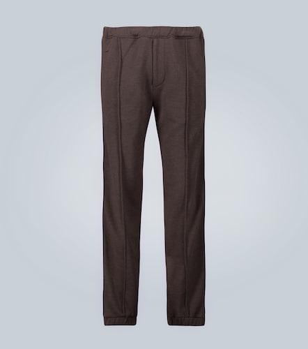 Pantalon en cachemire et soie - Fendi - Modalova