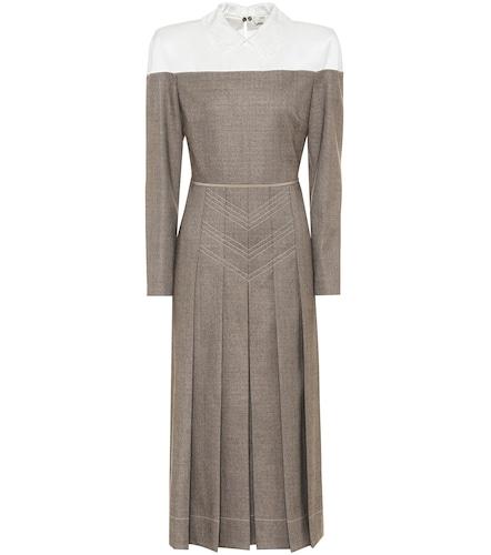 Robe chemise en laine mélangée - Fendi - Modalova