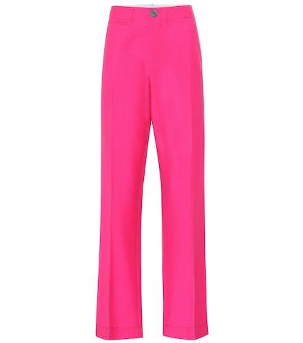 Pantalon droit en laine et mohair - Loewe - Modalova