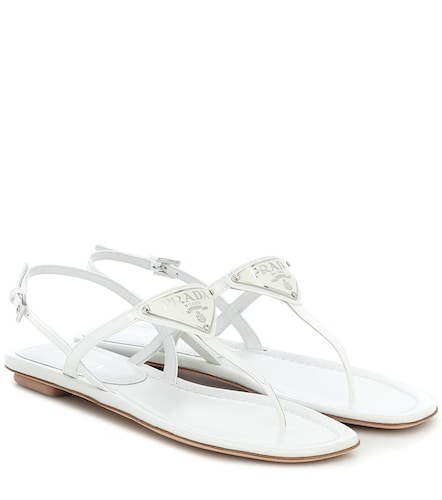 Sandales en cuir - Prada - Modalova