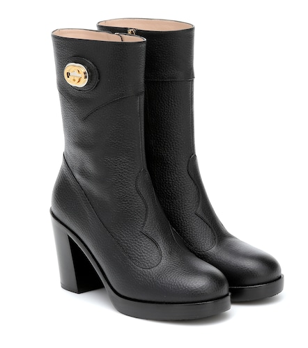 Bottines en cuir - Gucci - Modalova