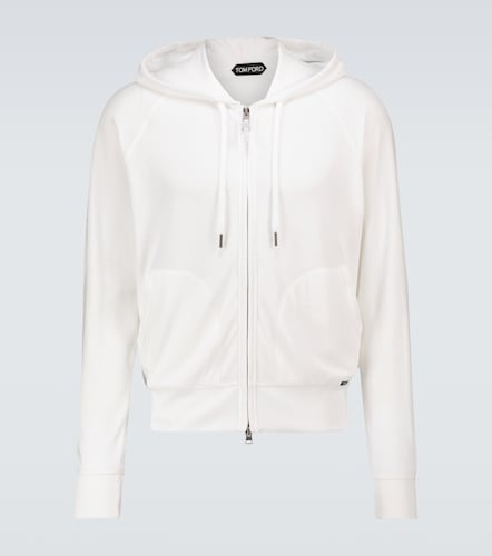 Sweat-shirt en velours - Tom Ford - Modalova