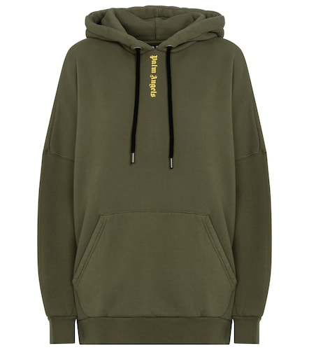 Sweat-shirt à capuche en coton à logo - Palm Angels - Modalova