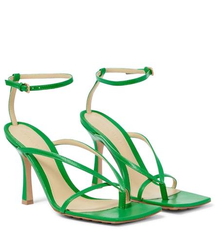 Sandales Stretch en cuir - Bottega Veneta - Modalova