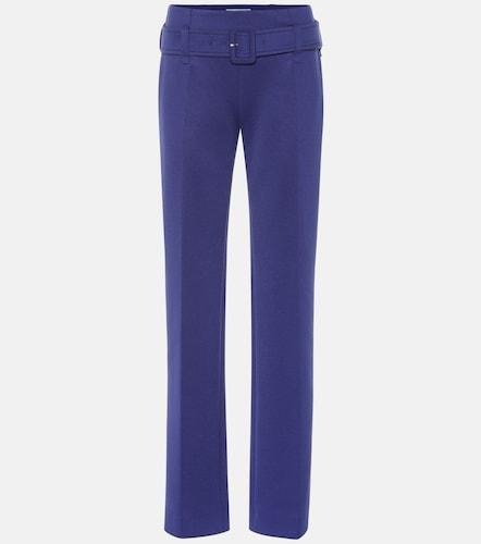 Pantalon droit à ceinture - Prada - Modalova