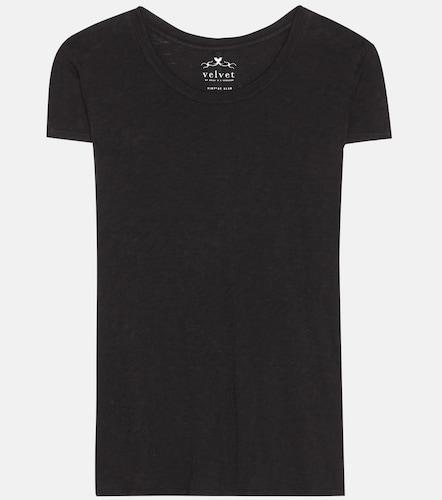 T-shirt en coton Odelia - Velvet - Modalova
