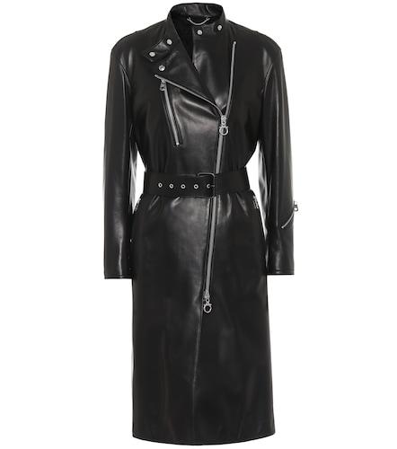 Manteau en cuir - Salvatore Ferragamo - Modalova