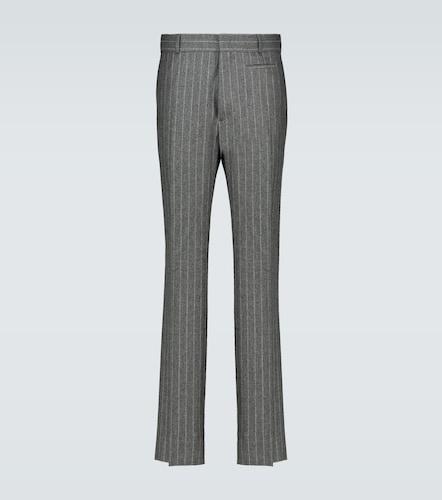 Pantalon en flanelle de laine - Fendi - Modalova