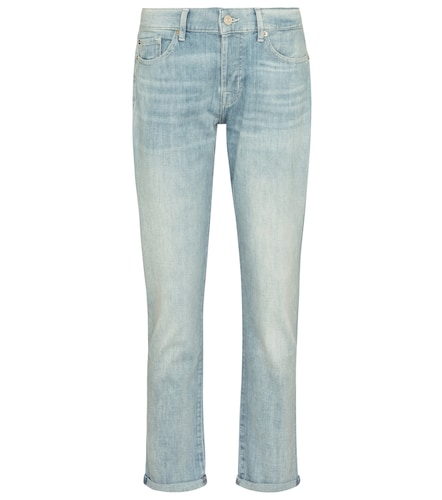 Jean boyfriend Asher à taille mi-haute - 7 For All Mankind - Modalova
