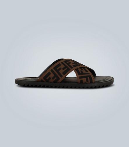 Sandales à motif FF - Fendi - Modalova