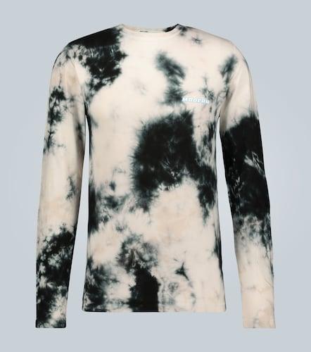 T-shirt tie-dye à manches longues - Off-White - Modalova